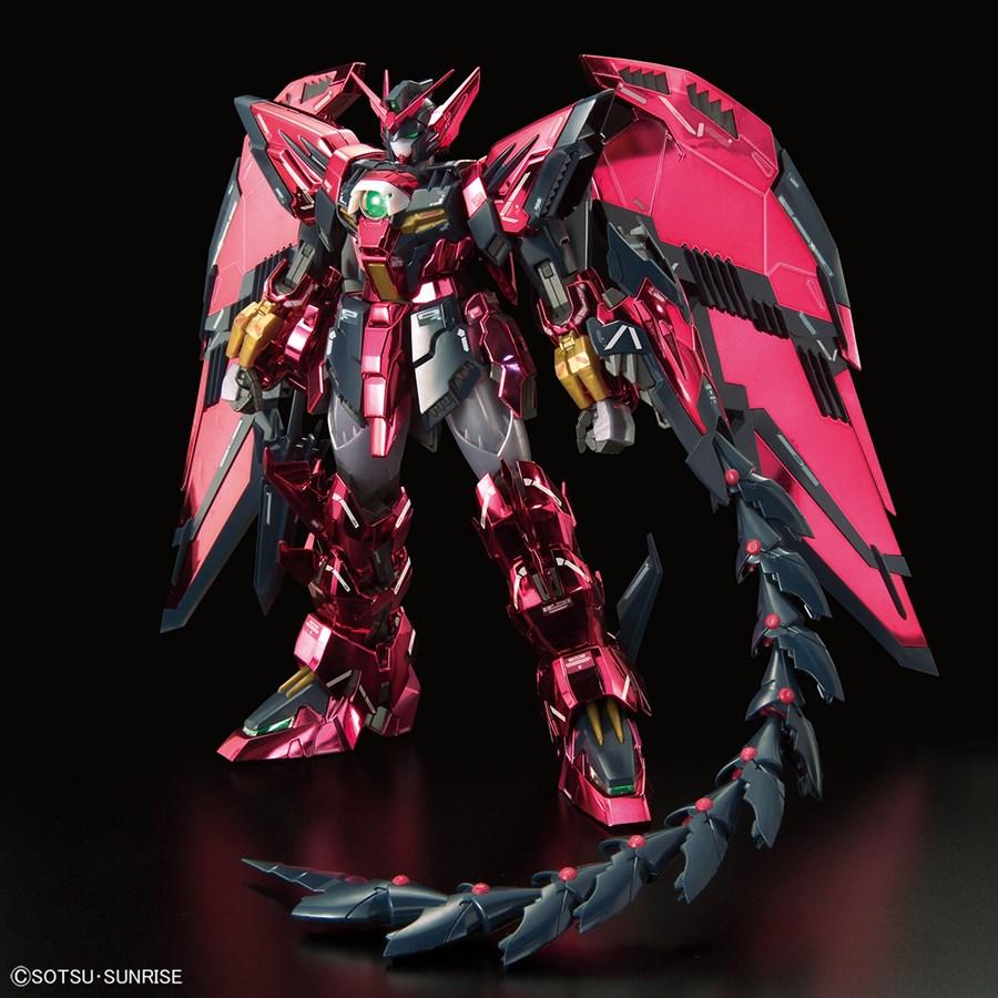 MG 1/100 Gundam Epyon EW được mạ chrome hồng