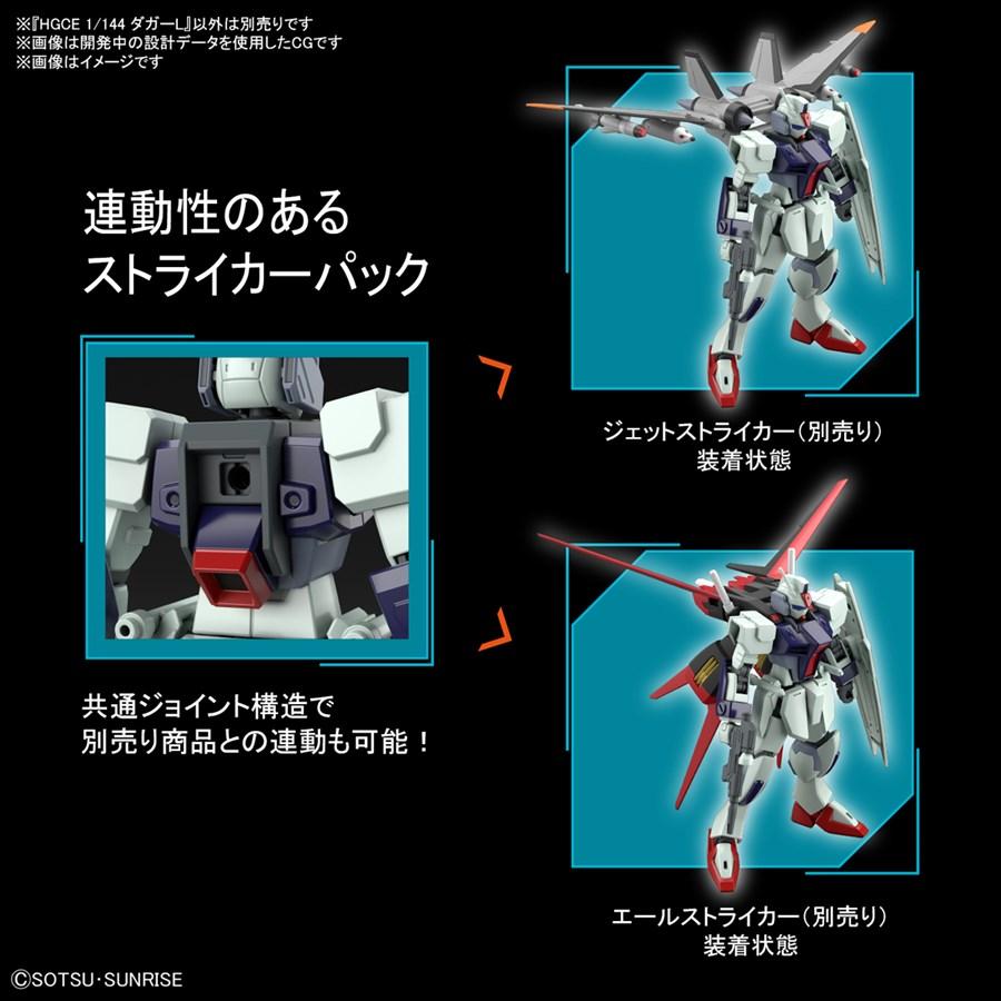 Mở bán Gundam MG Mobile GINN & HGCE Dagger L 5