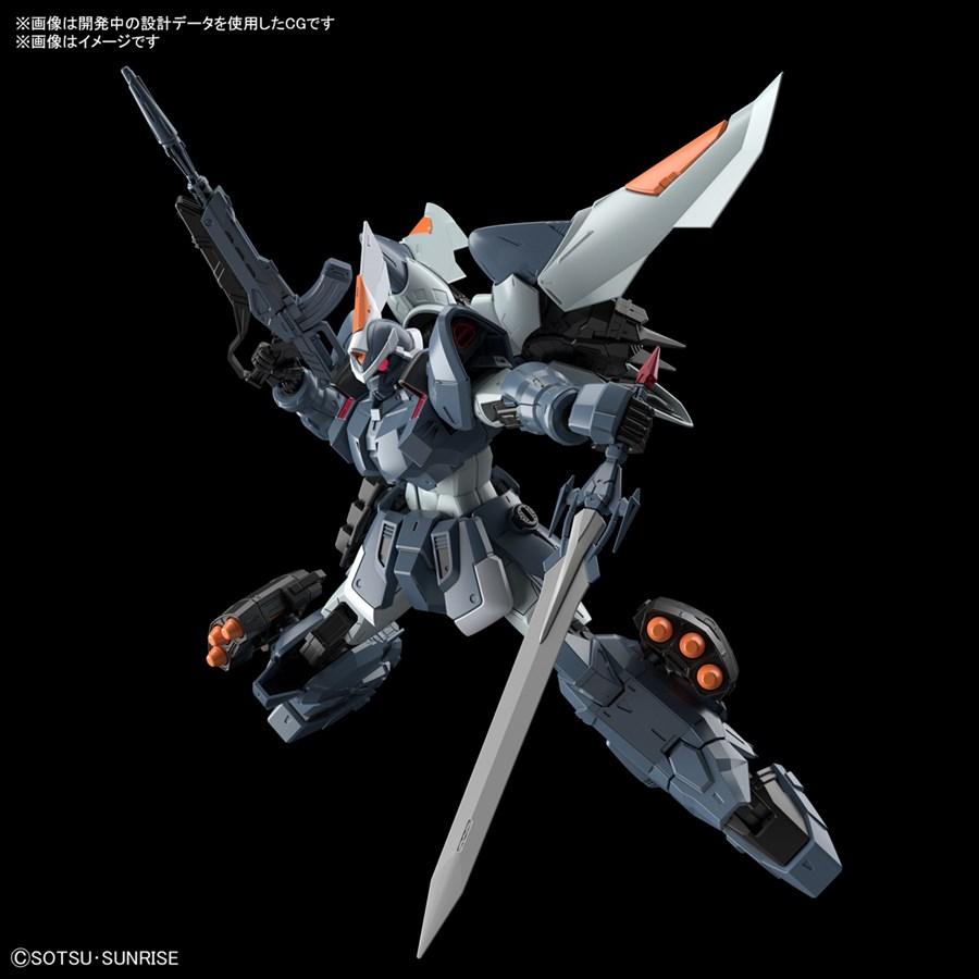 Gundam Mobile 1/100 GINN đã được nâng lên tỷ lệ 1/100