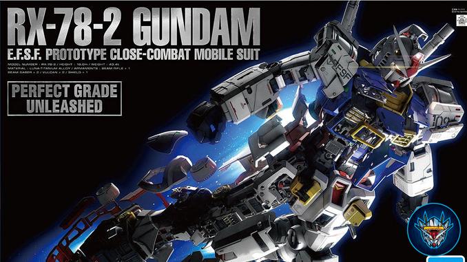 Trải nghiệm tuyệt vời cùng mô hình Perfect Grade Unleashed RX-78-2 Gundam 1