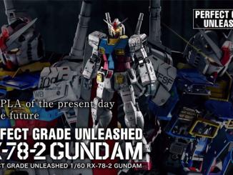 Trải nghiệm tuyệt vời cùng mô hình Perfect Grade Unleashed RX-78-2 Gundam 2
